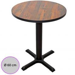 Mesa de bar Tablero Melamina redondo 60 cm