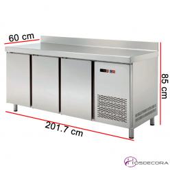 Mesa congelación fondo 60 de 3 puertas 47-MCCH200