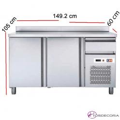 Frente mostrador frío 2 Puertas Fondo 60 47-FMCH150