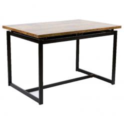 Mesa para restaurante Tablero Melamina 120x80 cm. CANALES