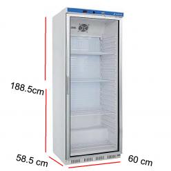Armario de mantenimiento de congelados con puerta de cristal