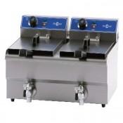 Freidora con GRIFO Electrica Bar  6L.  4Kw.