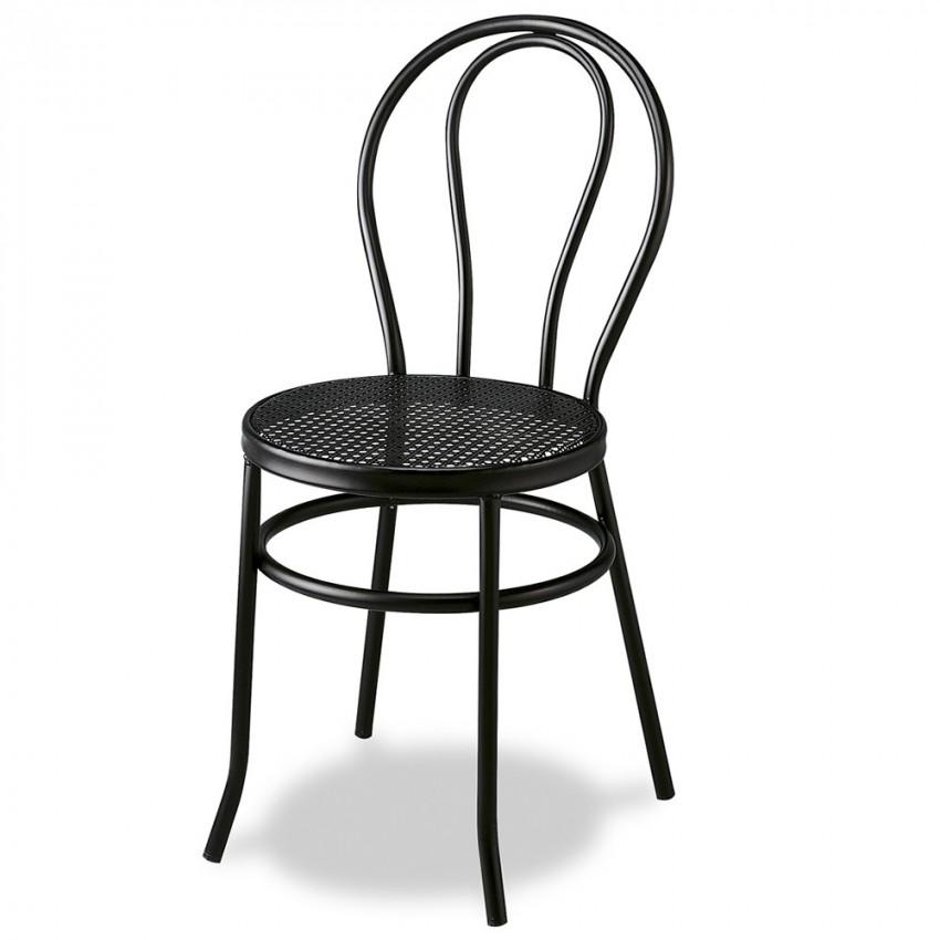 Silla para bar mr101 asiento espuma negro