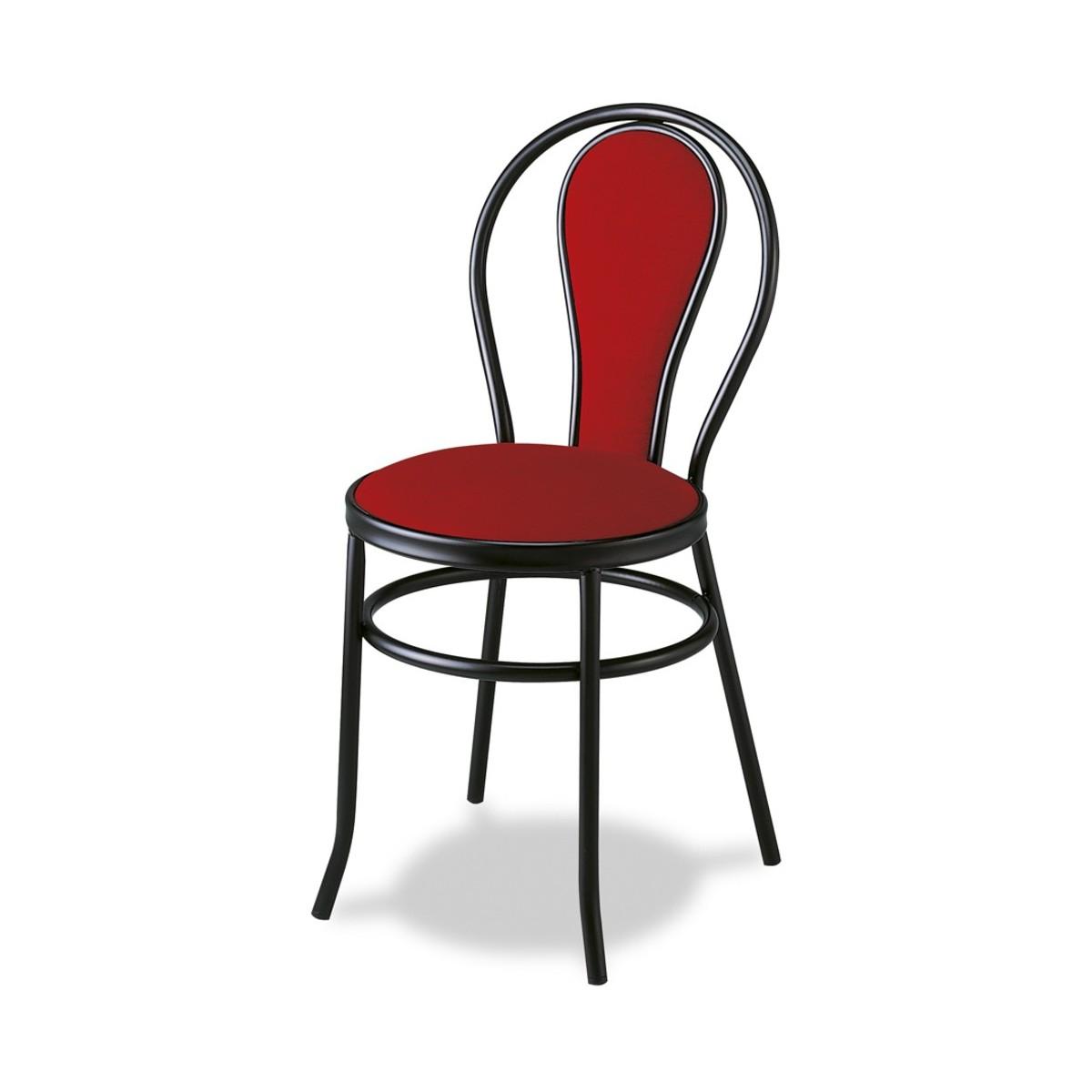 Silla para bar tapizado asiento y respaldo en skay o - Sillas para bares ...