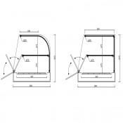 Expositor grupo remoto 6 Cubetas GN 1/3 VIRMARF