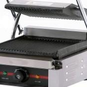 Plancha grill 21.8 x 23 cm -1.8 kw -Ranurada 16GR220RR