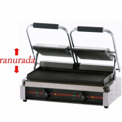 Plancha grill doble 34 x 23 cm -2.2 kw -lisa 16GR475LL