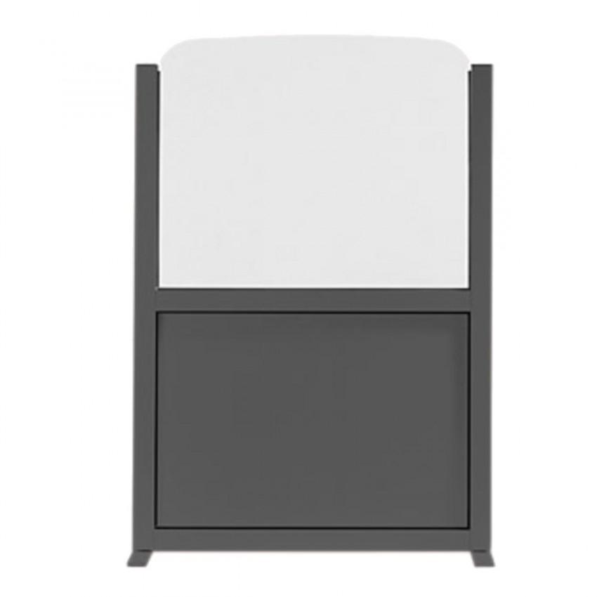Separador de terrazas en aluminio 70x150 -MARIO