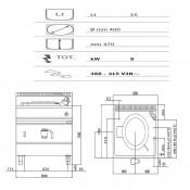 Marmita Electrica Indirecta 55 Litros - 7PD
