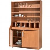 Mueble Cubertero Melamina 120x40x190