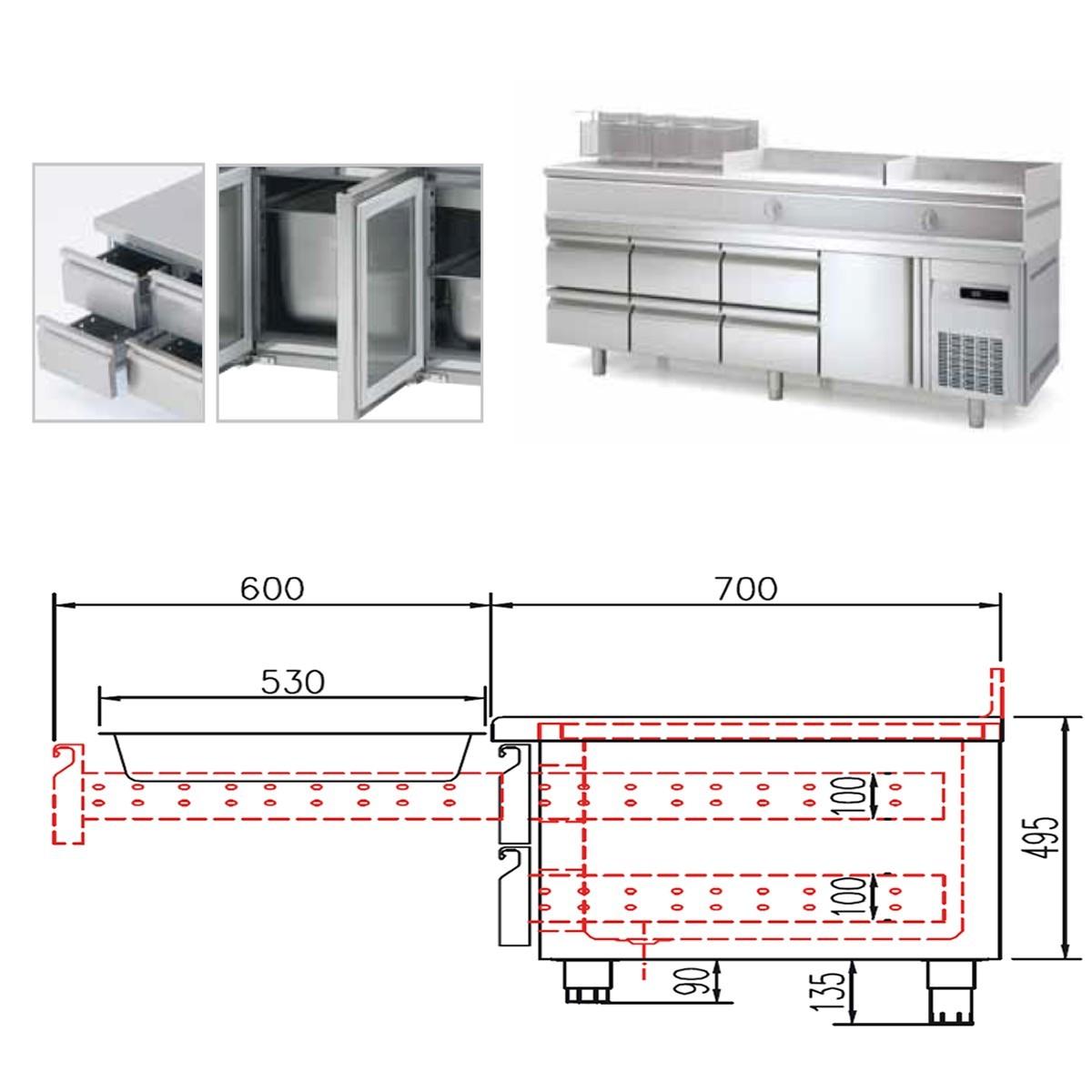 Altura de encimera de cocina best hacer coincidir los - Altura encimera cocina ...