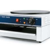 Crepera electrica  industrial 40 CM 07EC-1