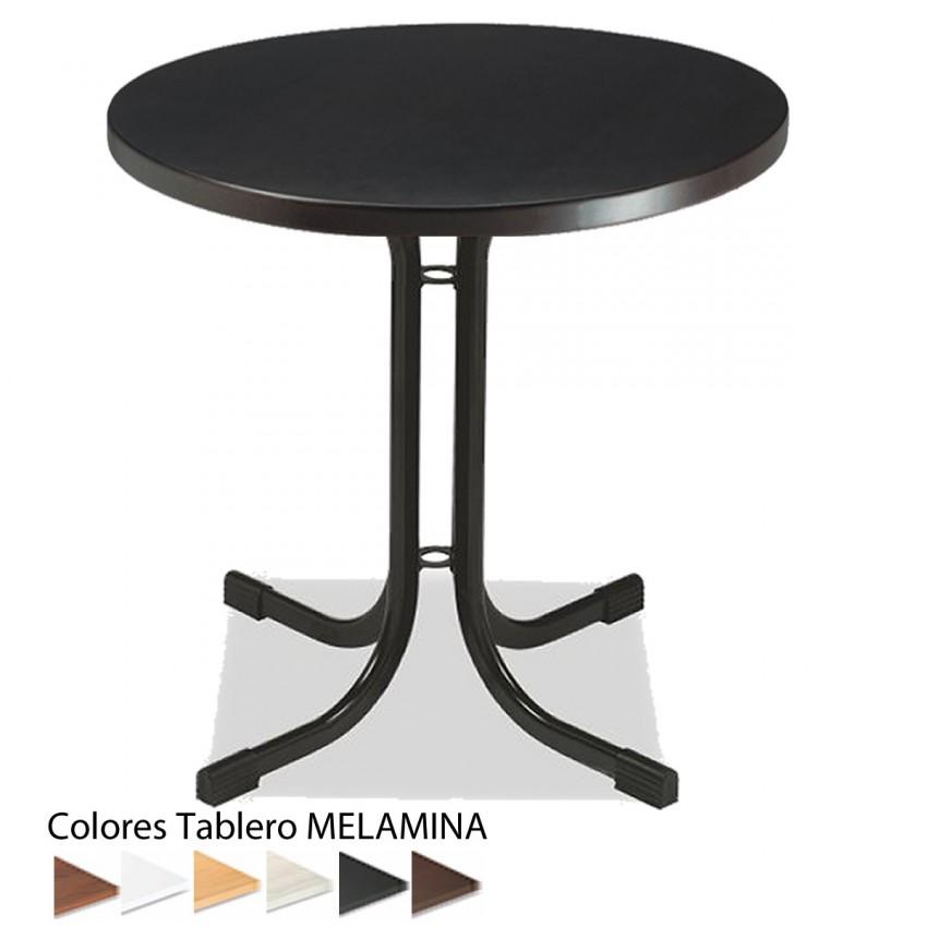 Mesa monteserio para cafeter a melamina 70 cm for Mesas para cafeteria