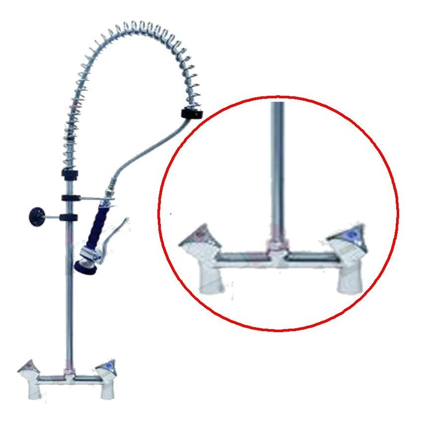 Grifo ducha con dos llaves y agujeros 548912 - Grifo de la ducha ...