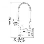 Grifo de ducha dos aguas  y grifo corto  ECO 34-548893