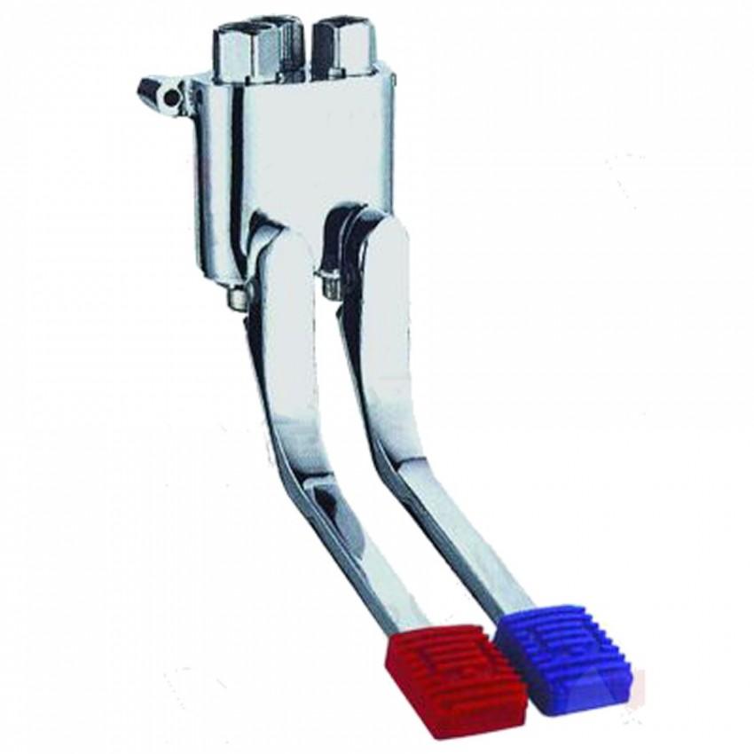Pedal de grifo mezcladro aguar fria y calente para suelo 34-542915