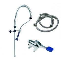 Grifo completo con pedal y ducha 34-542915+ducha