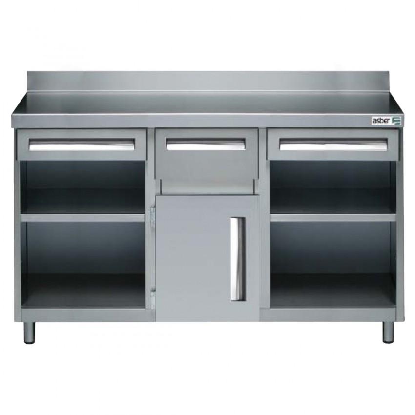 Mueble Cafertero y Molinos 522003 con Orificio- 2025x600