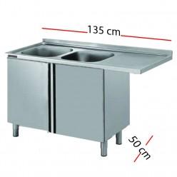 Fregaderos con espacio para poner el lavavajillas hosdecora for Pozas para cocina