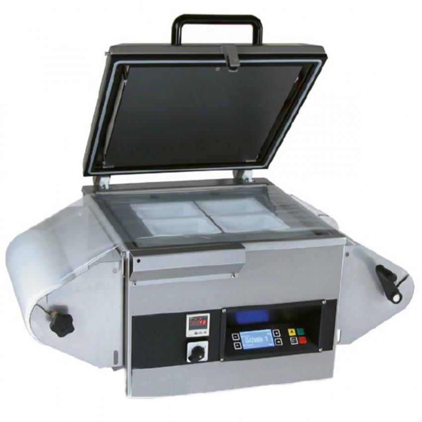 Evasadora de barquetas Sensor 42.5 Barra-23m³- 220 MP
