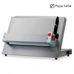 Laminadora de pizza Ø 34 cm. 80/400 gr. masa- M35
