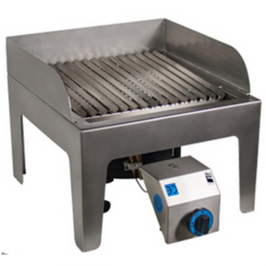 Pellero- Barbacoa Sobremesa a Gas 40x40 10 Kw- BBQ