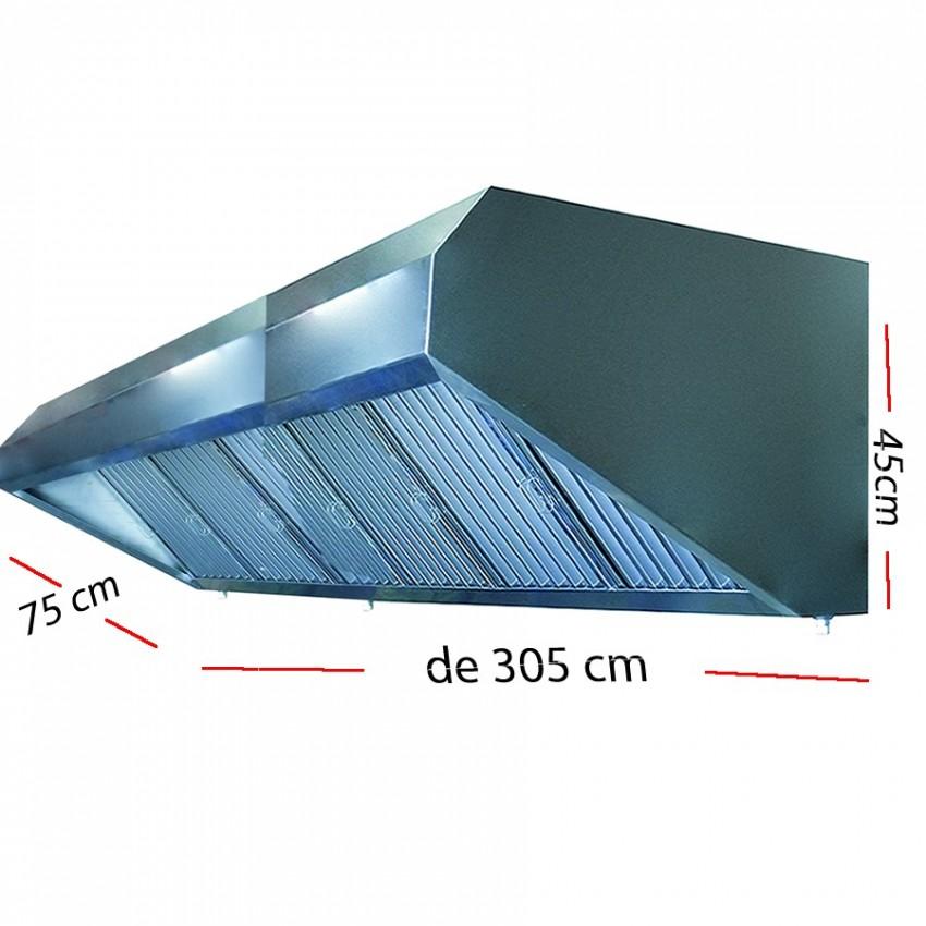 Campana industrial de 45 cm de alto x 75 cm desde 1 metro a 3.5 metros