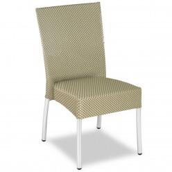 Silla para Restaurante Textilene Beige - ESTEPA