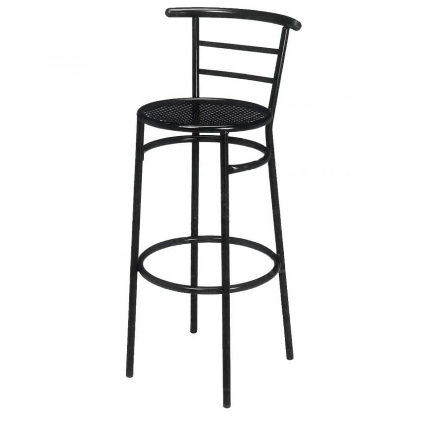 Taburete de Bar asiento de Rejilla- HERNANI