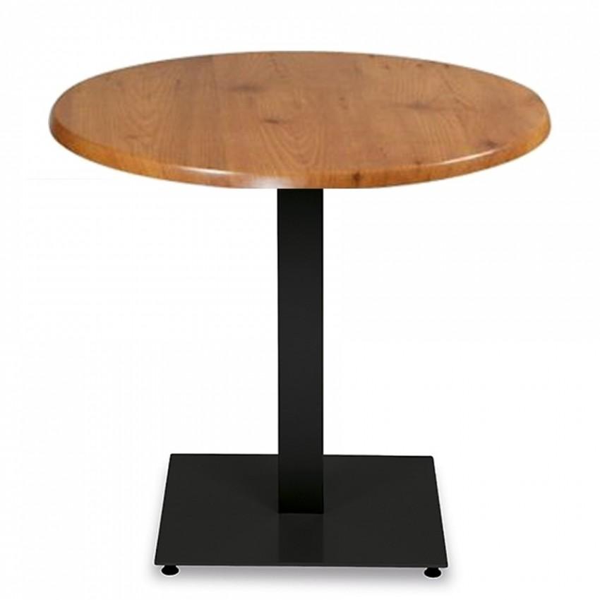 Mesa para Bar BARAÑAIN Tablero Werzalit Ø 60 cm