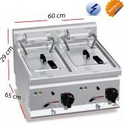 Freidora a Gas para cocinas 8 L. 6.6 Kw - GL8+8B
