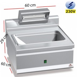Mantenedor de Fritos Electrico 1.1 Kw - E6SP6B