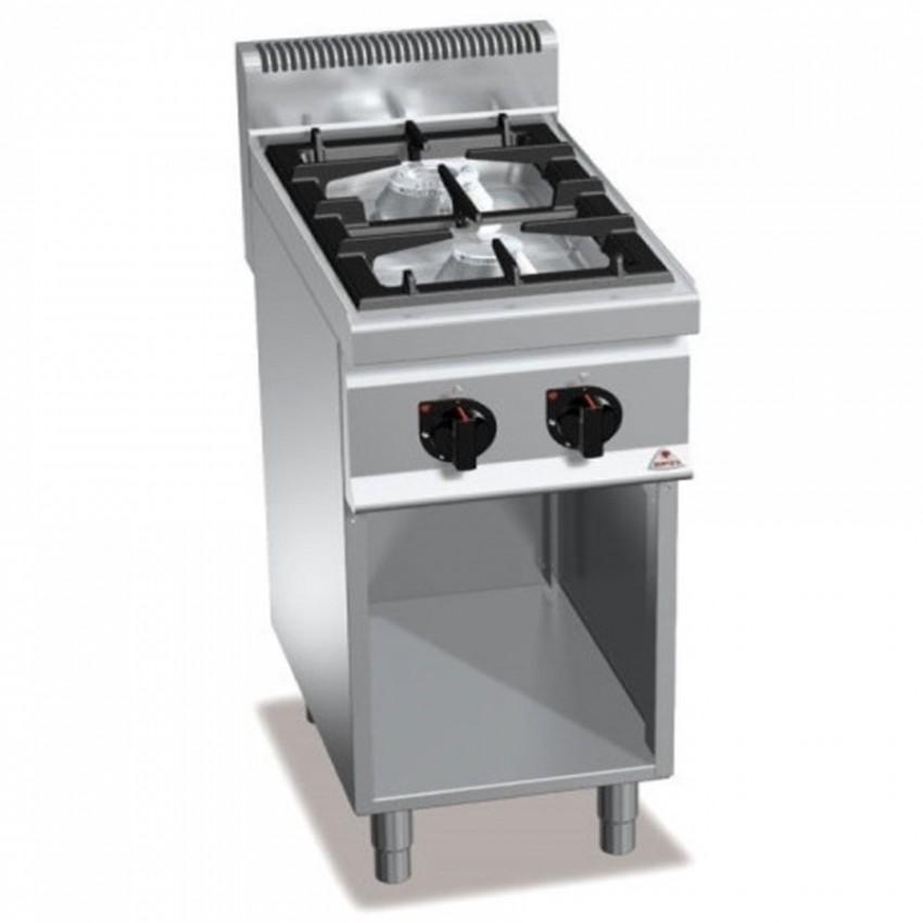 Cocina de gas con mueble butano o porpano 2 fuegos para for Cocinas 5 fuegos gas