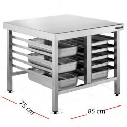 Mesa para hornos industriales