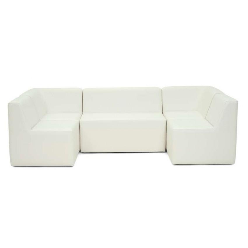 Sofa de dos plazas para terrazas y veladores sol for Tela sofa exterior