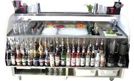 barra para bartender