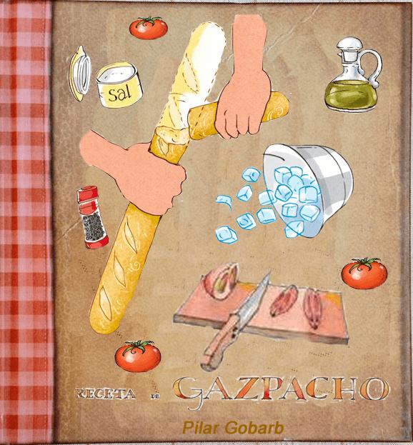 ingredientes del gazpacho