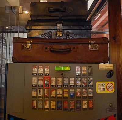 maquina de tabaco