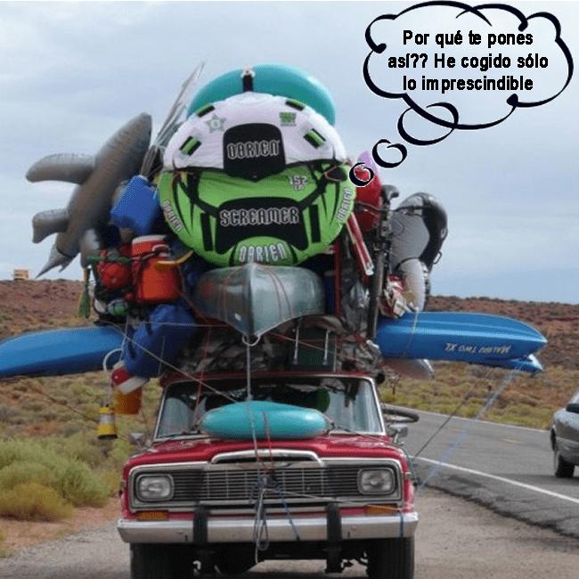 prepararse para el camping