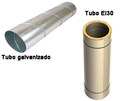 tubos para campanas extractoras