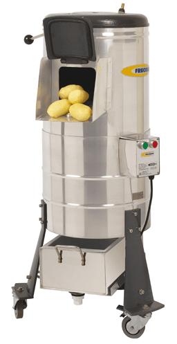 peladora industrial de patatas