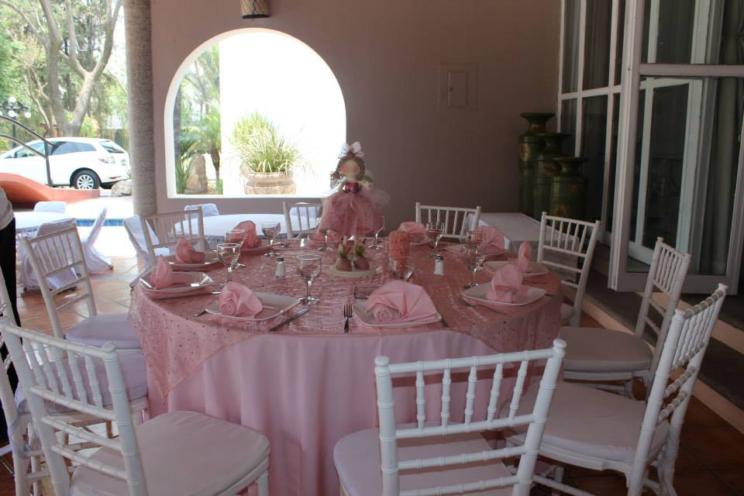 mesa de catering