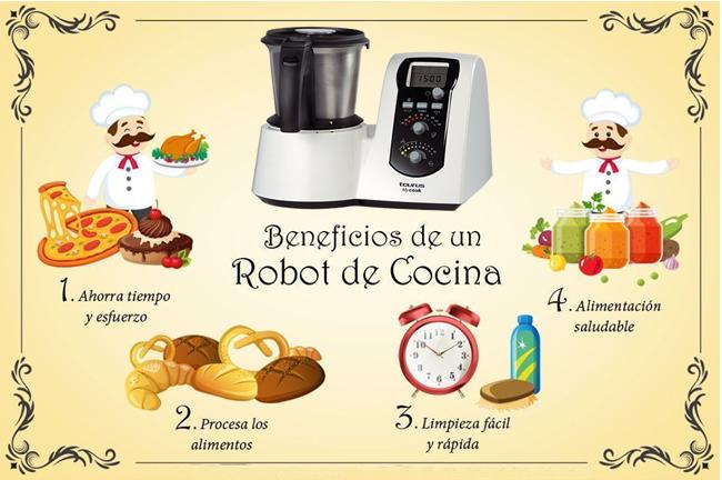 beneficios del robot de cocina