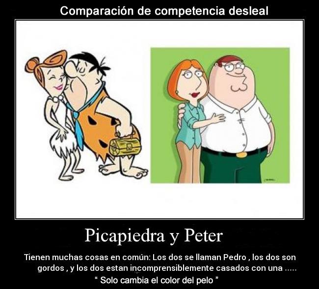 picapiedra y peter