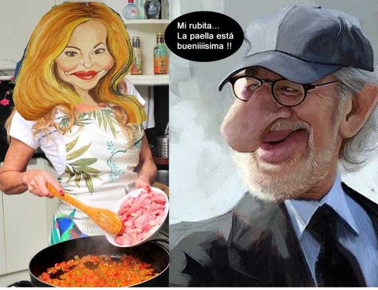 la paella de Ana Obregon