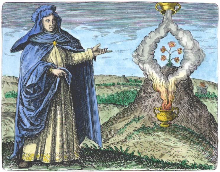 alquimista María