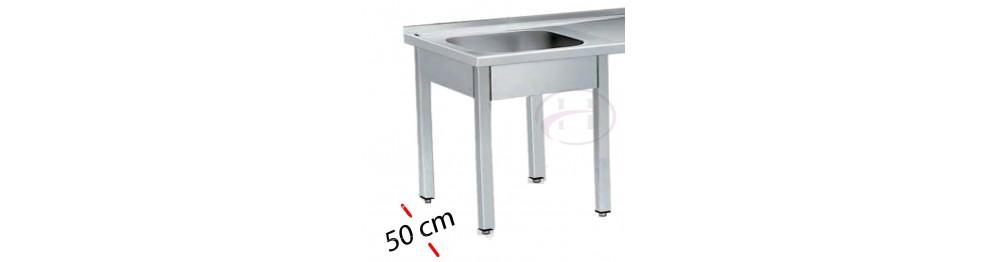 Fregaderos -Fondo 50 cm