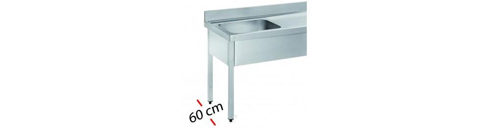 Fregaderos -Fondo 60 cm
