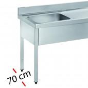 Fregaderos -Fondo 70 cm