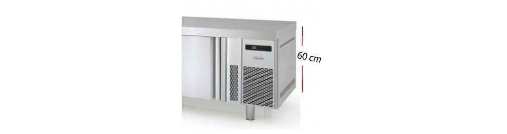 Mesas frías bajas para cocción